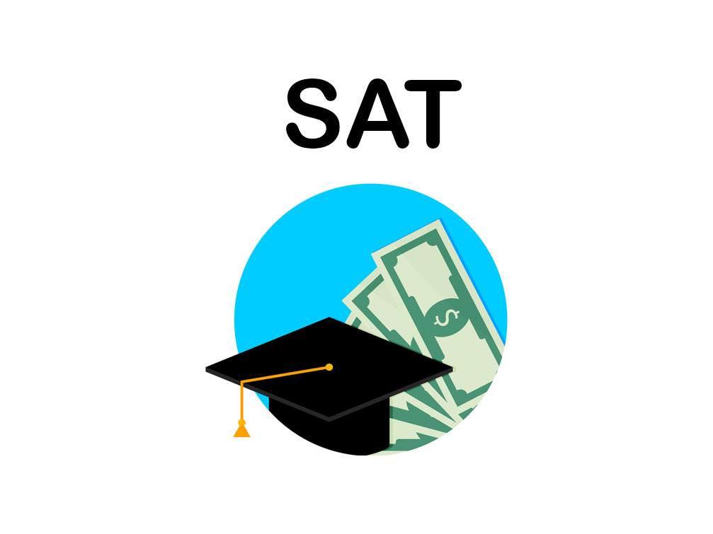 How much SAT score is required for scholarship?