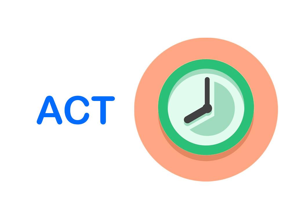 Ôn ACT trong bao lâu là đủ