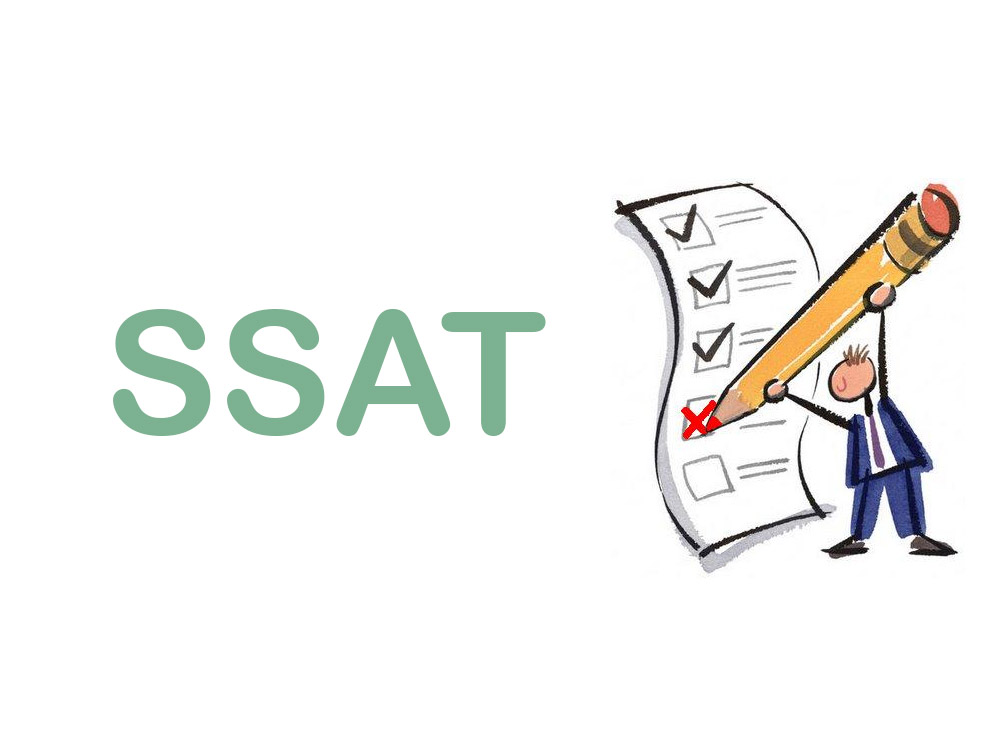 What are the sections in the SSAT test prep