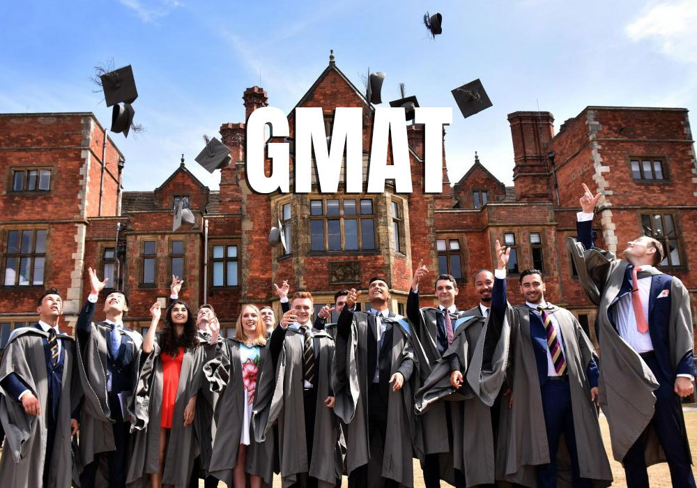How much GMAT score is required for scholarship