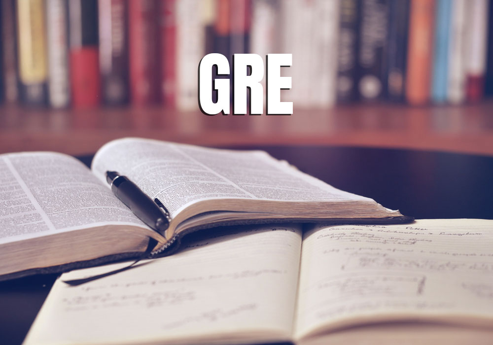 How much GRE score is required for scholarship