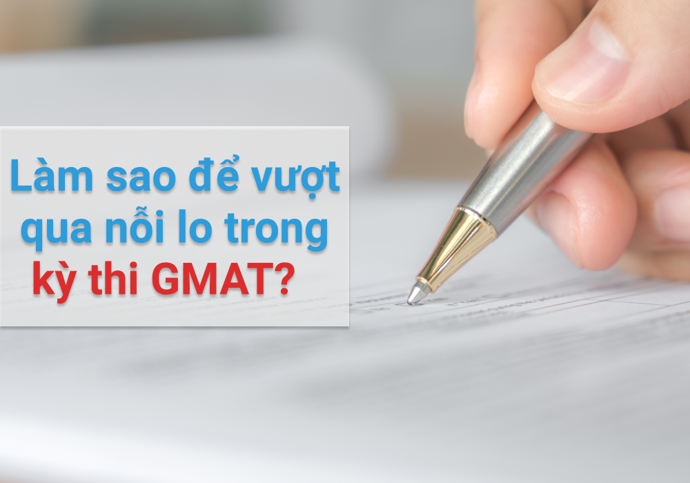 How to deal with GMAT stress?